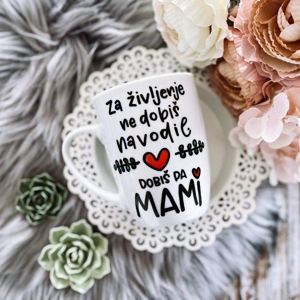 skodelica za življenje ne dobimo navodil, dobimo pa mami darilo za mami materinski dan