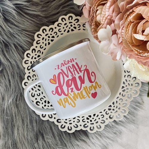 lonček skodelica kava čaj darilo za prijateljico darilo motivacijska misel